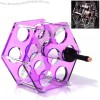 Hexagon Wine Shelf - Acrylic Wine Rack
