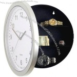 Hidden Safe Wall Clock