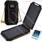High Efficiency Folding Solar Power Bank Charger