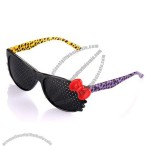 High-End Fashion Pinhole Glasses