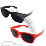 High-End Fashion Pinhole Glasses(3)