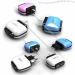 High-quality Colorful USB Wall Charger Adapter for iPhone/iPad mini/iPod/Cellphone
