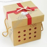 High Quality Environmental And Strong Kraft Paper Box for Fruit