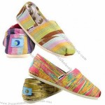 High quality ladies' canvas shoes with canvas upper, EVA out-sole