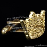 High Quality Metal Crown Cufflinks