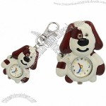 High Qulity Fashion Stylish Cartoon Key Chain Watch