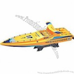 High-speed RC Hobby/Racing Boat with Forward, Stop, Turn Left, Turn Right Functions, 7.8-inch Volume