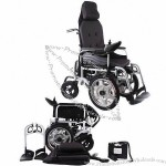 High Strength Body Portable Electric Power Wheelchair