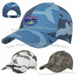 Hitpromo Embroidered Or Transferred Camouflage Cap