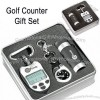 Hole in One 3 Piece Golf Gift Set - Counter / Watch / Monocular