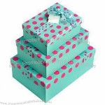 Holiday Decoration Cardboard Gift Boxes