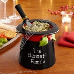 Holiday Top Hat Dish & Spreader