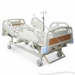 Hospital Bed with Double Revolving Levers and 250kg Maximum Loading Capacity