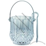 Hot Sale Acrylic Ice Bucket with Tongs