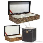 Hotel Amenity Gift Box, Wrapped with Leather