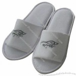 Hotel Slippers, 100% Cotton, Open Toe