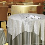 Hotel TableCloth, Comes with Round Style