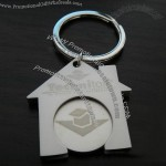 House Dhaped Trolley Coin Keychains