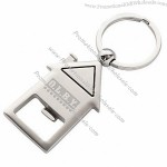 House Shaped Keychain Bottle Openers