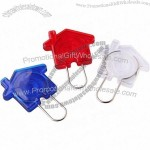 House Shaped Keyrings