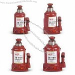 Hydraulic Jacks with 125 to 145mm Lifting Height and 60 to 80mm Adjustable Height
