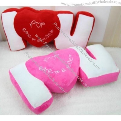 I Love You Heart Shaped Pillow Discount 1809139239