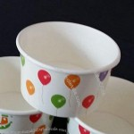 Ice Cream Paper Bowl, 4oz