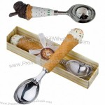 Ice Cream Spoon, High-quality Stainless Steel, with Resin Handle