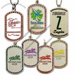 Iced Out Dog Tags