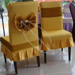 Imitated Wood Chair Cover