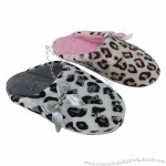 Indoor slipper with terry upper/lining and TPR outsole