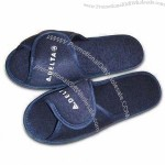Indoor Slippers, Made of Terry Cloth