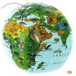 Inflatable Animals of the World Globe - 16in