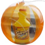 Inflatable Beach Ball with 3D goods Insert
