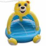 Inflatable Bear Tent Toy with 0.25mm PVC Thickness