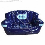 Inflatable Blue Queen Air Sofa Bed