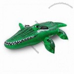 Inflatable Crocodile Ride-on for Beach Leisure and Water Float