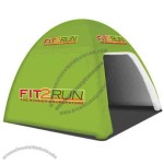 Inflatable dome shape tent.