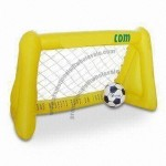 Inflatable Football Goal with One Piece Ball, Measures 43 x 32 x 38 Inches