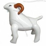 Inflatable Goat Animal Toy in Different Animal Shapes