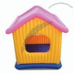 Inflatable Pet House with 0.25mm PVC Thickness, Measures 43 x 45 Inches