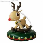 Inflatable/Reindeer Rocking Chair with 0.25mm PVC Thickness