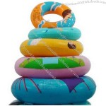 Inflatable swim ring.