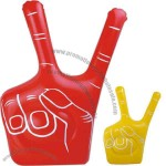 Inflatable victory hand