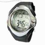 Infrared Heart Rate Monitor Watch with Alarm Function