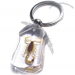 Insect Keychain Scorpion