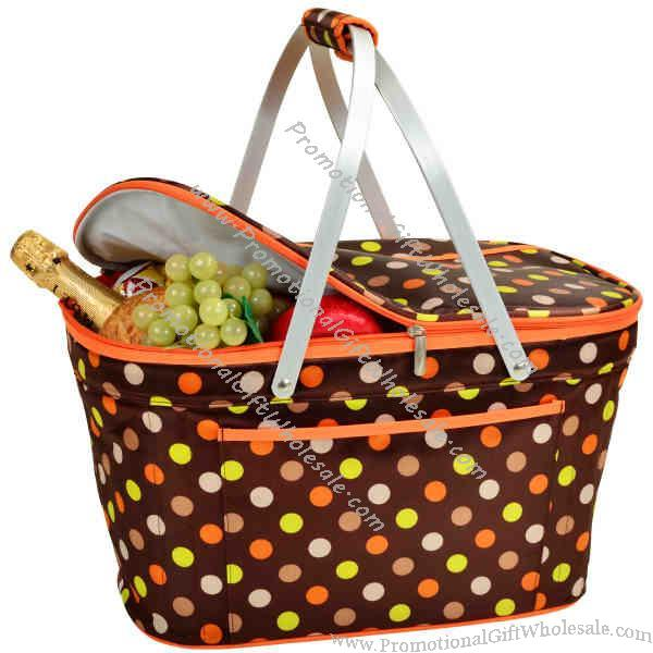 Picnic Basket Food : Promotional insulated picnic basket to keep food and