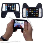 iPhone 4 4g 5 Game Silicone Handle Case