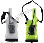 IPX8 Waterproof Pouch for Walkie Talkie with Lanyard