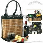 Jasmine Bamboo Wine and Cheese Tote for 2